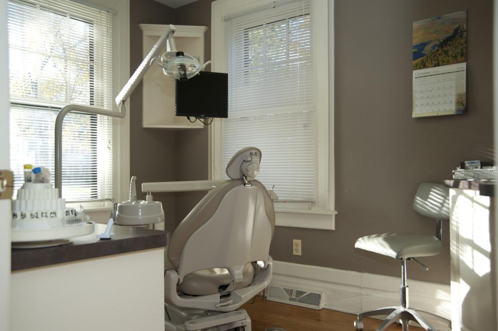 Neighborhood Family Dentistry Exam Room