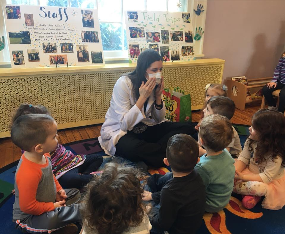 Dr. Erin Brown of Neighborhood Family Dentistry at the Genesee St. Children's Center in New Hartford, NY